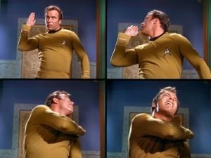 Bill Shatner is a big bully