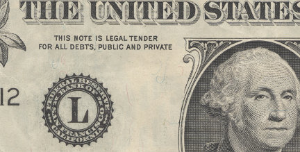 Legal tender
