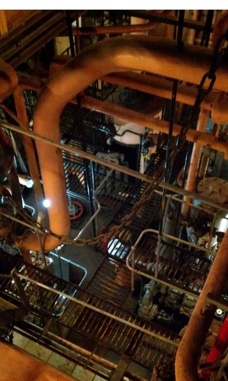 Battleship Engine Room: The Last Cruise Of The USS Iowa