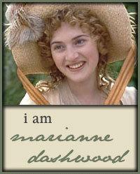 I am Marianne Dashwood